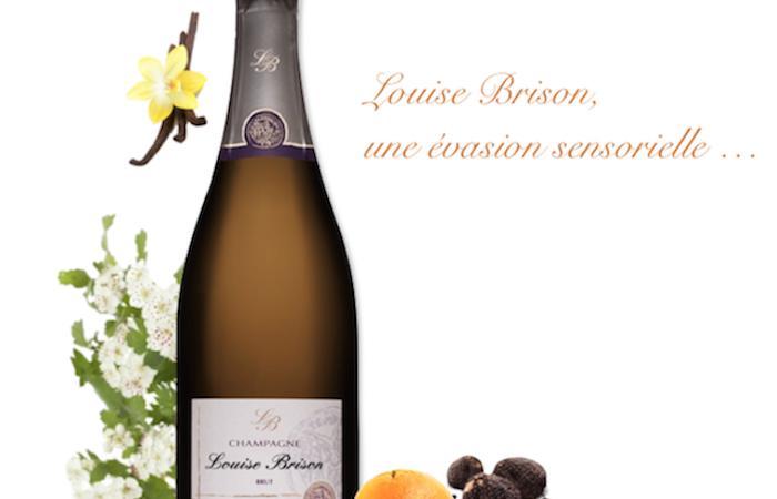 L'éveil des arômes  et le champagne millésimé Louise Brison