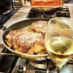 En cuisine avec Champagne millésimé Louise Brison